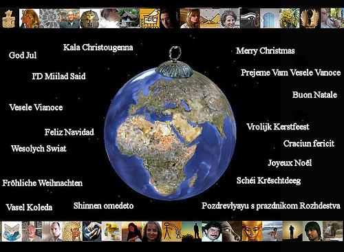 Weihnachten kairo photo